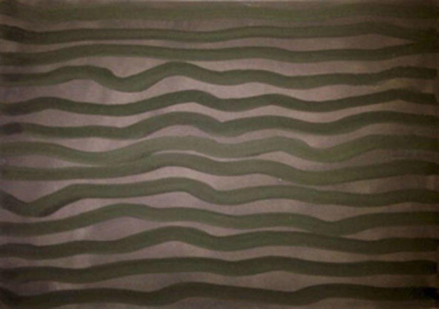 ESTIVAL MINIMAL <p>Sol Lewitt<br /> <em>Horizontal Brushstrokes 2002</em><br /> Gouache sur papier 20 x 30cm</p>  - Helenbeck Gallery Nice