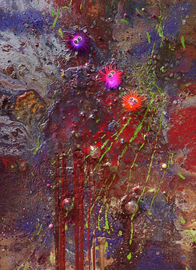 John Armleder - Helenbeck Gallery Nice