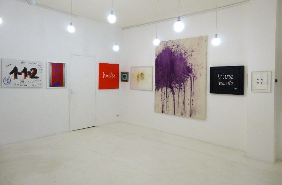 WORDS… WORDS… WORDS… <p>Vue d'exposition</p>  - Helenbeck Gallery Nice