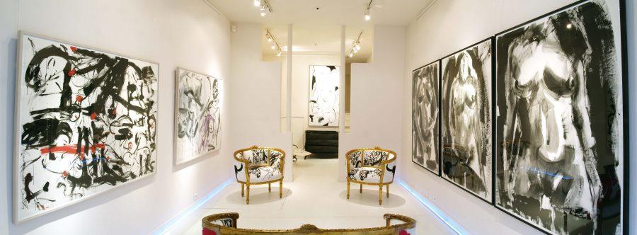 LUCIANO CASTELLI <p>Vue d'ensemble</p>  - Helenbeck Gallery Nice