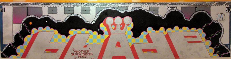 BLADE THE CRAZY – NYC GRAFFITI ART  - Helenbeck Gallery Nice