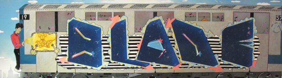 BLADE THE CRAZY – NYC GRAFFITI ART — Exposition, Helenbeck Nice